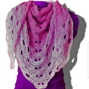 Crochet Virus scarf/shawl!